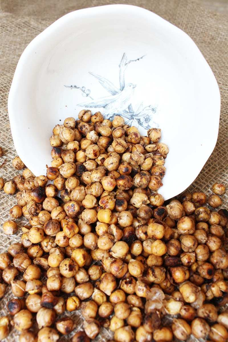 "My ""world famous"" baked chickpeas recipe."