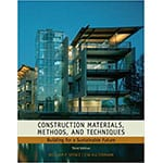 If you're interested in green building materials like eco-friendly drywall alternative magnesium oxide board, consider checking out William P. Spence and Eva Kultermann's Construction Materials, Methods and Techniques: Building for a Sustainable Future.