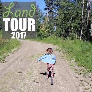Land Tour by Of Houses and Trees | Welcome to my land tour! We're building a house here, but for now it's just 40 acres of rolling hills, trees and undergrowth in central Alberta, Canada.
