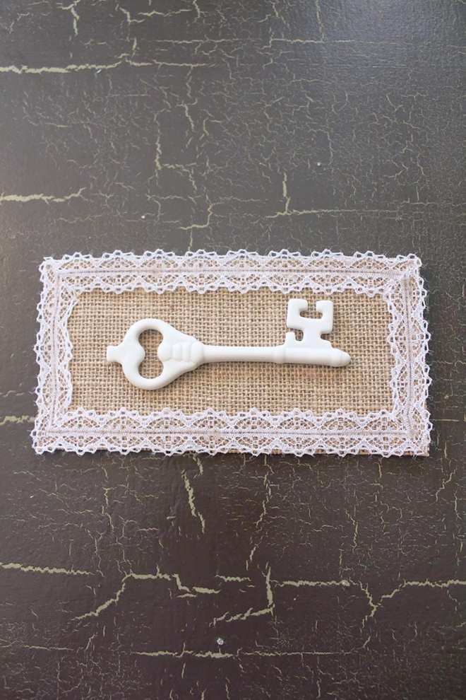 If you're looking for eco-friendly DIY projects, try this vintage-inspired mounted key art. Even the smallest eco-friendly projects make a difference.