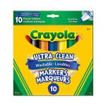 Green your school year by investing in eco-friendly school supplies - including Crayola markers, which are partially made with recycled content.