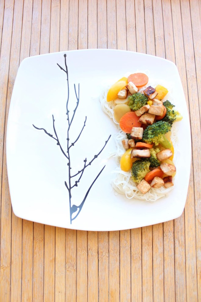 This simple Teriyaki Stir Fry is just one of many healthy, vegan lunch ideas - that both kids and adults will love!
