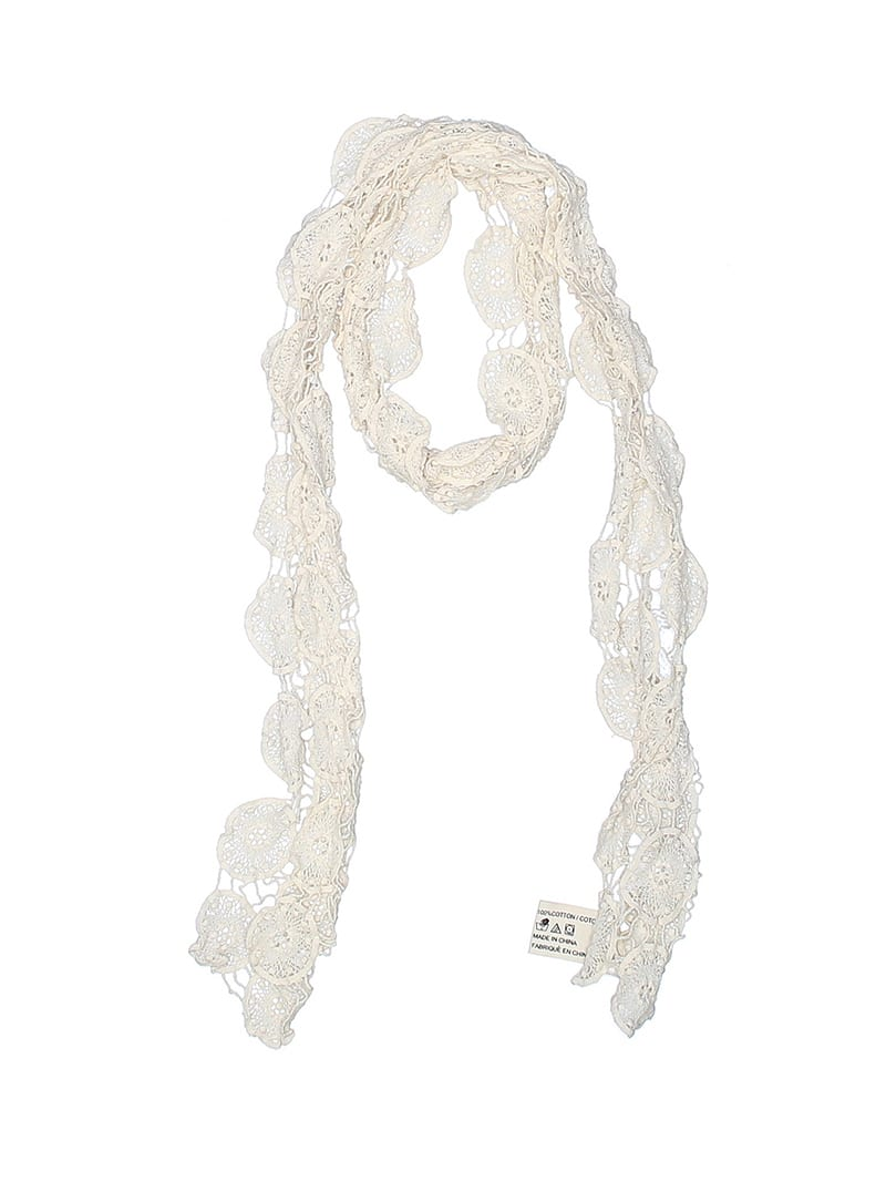 Create customized second hand Halloween costumes with items you can add to your regular wardrobe and wear again! Like this scarf headband, which would be perfect for a treehugger costume.