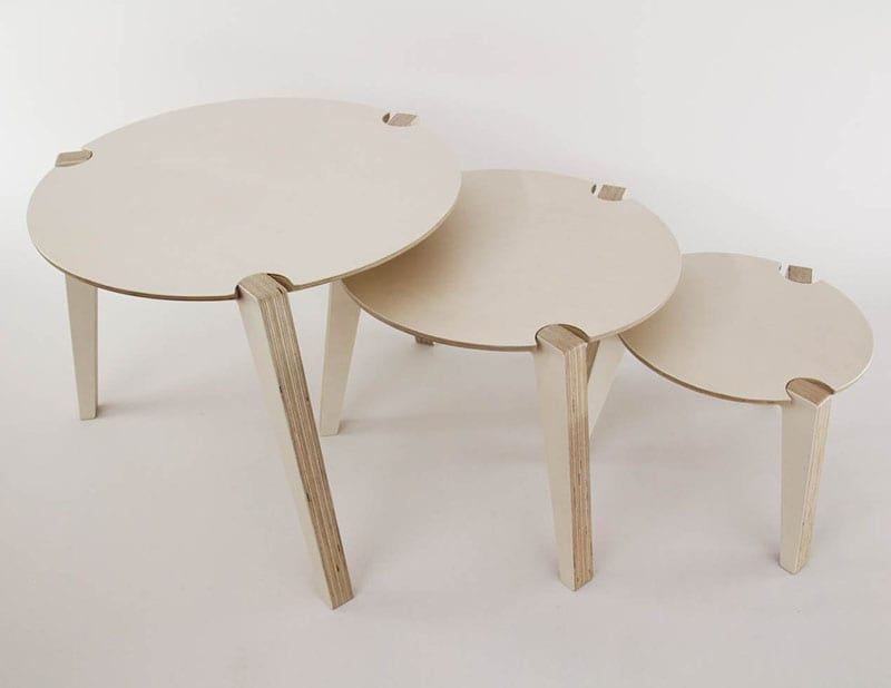 """Welcome to """"Green This Look,"""" where I show you how to create an eco-friendly living room and offer some bohemian decor ideas - that are great for any space! Like these handmade plywood and birch stackable stools."""