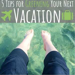 5 Tips For Greening Your Next Vacation