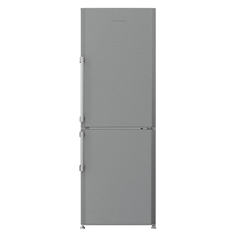 "What's an eco-conscious kitchen without an energy efficient fridge? This 24"" bottom freezer refrigerator by Blomberg uses 302 kwH/yr."