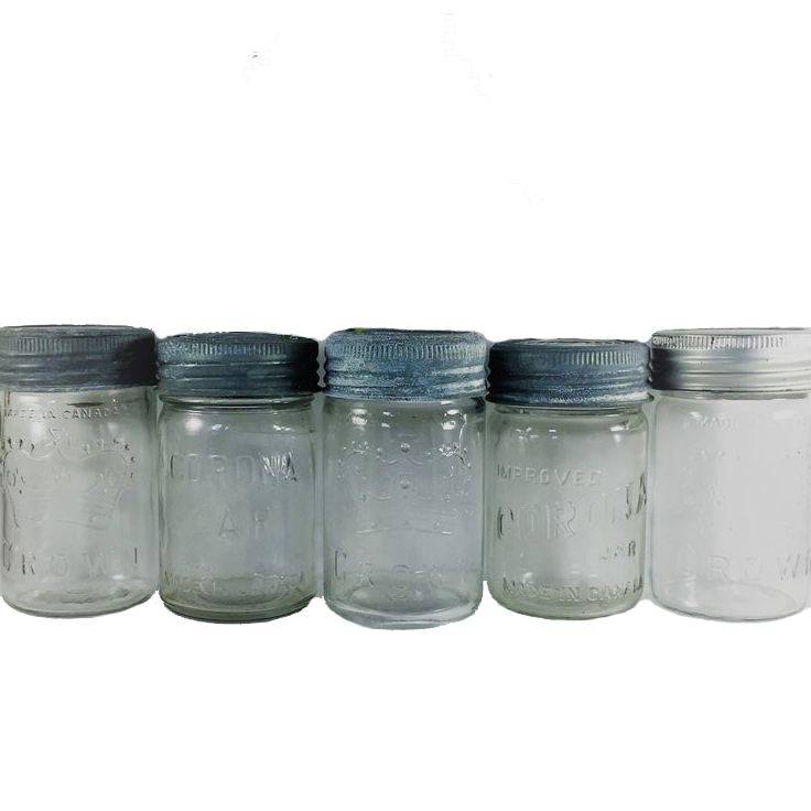"Welcome to the next entry in my ""Green This Look"" series, featuring a rustic industrial style kitchen filled with très cool and earth-friendly finishes! Like vintage glass jars to store all your bulk foods in."