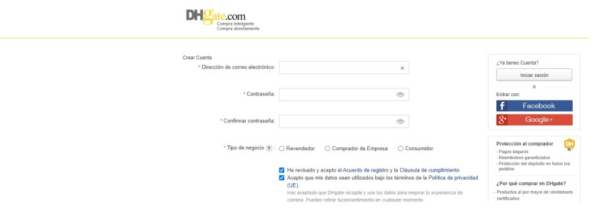 Opiniones Dhgate
