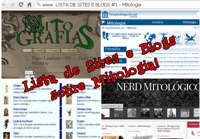 lista de sites e blogs sobre mitologia
