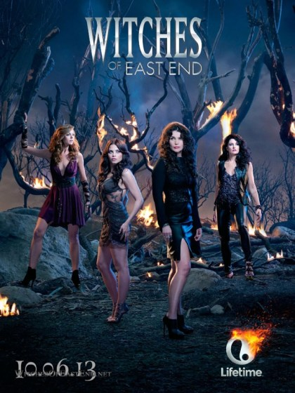 Banner da Lifetime para Witches of East End.