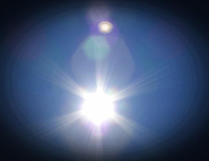 Foto do Sol cedida gentilmente pelo leitor C.B.J.