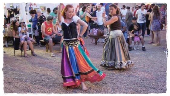 Fotos Samsara - Grupo de Dança Cigana. Imagens de Catherine De Looz - Rubi - autorizadas. (2)