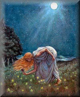 """Persephone"" por Kris Waldherr."