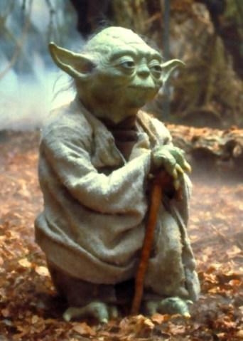 Muita calma, jovem Padawan deve ter! (Mestre Yoda)