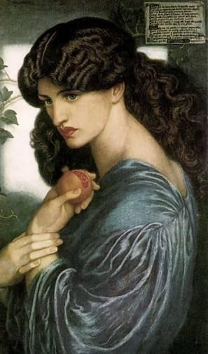 Perséfone é um exemplo de deusa que é invocada no outono. Costuma-se invocar esta face da deusa para pedir e agradecer pelas colheitas e pelas lições espirituais. Persephone, de Dante Gabriel Rossetti, 1874.