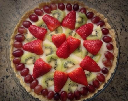 Que tal uma deliciosa torta de frutas para Mabon? Recomendadíssimo! Foto cedida gentilmente por Bia F. Carunchio.
