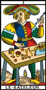 O Mago do Tarot de Marselha.