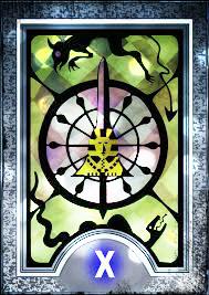 a viagem do tarot - a roda da fortuna - persona tarot
