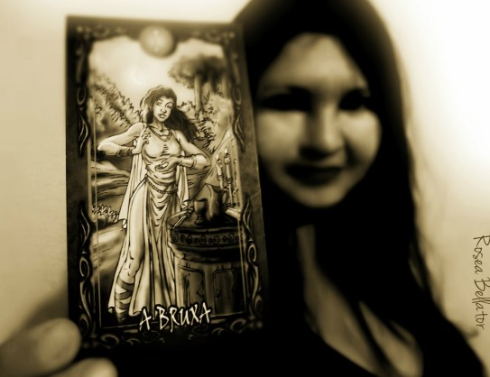 a bruxa e o tarot