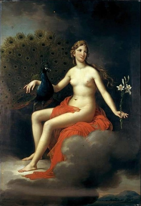 Hera, por Joseph Paelinck, 1831, Museu de Belas Artes de Gante. Deusas do Olimpo, Deusas Athena Hera Afrodite Hestia Deusas Grandiosas Deusas Gregas