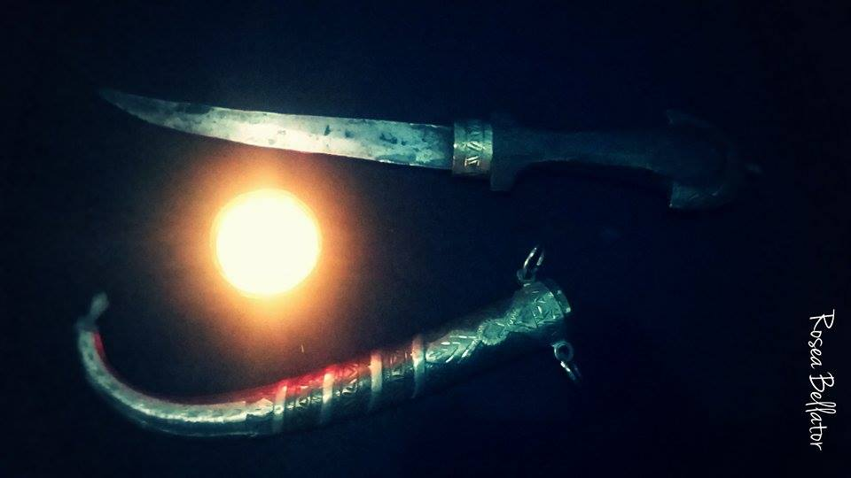 Ritual para Cortar e Afastar Energias Negativas - rosea bellator