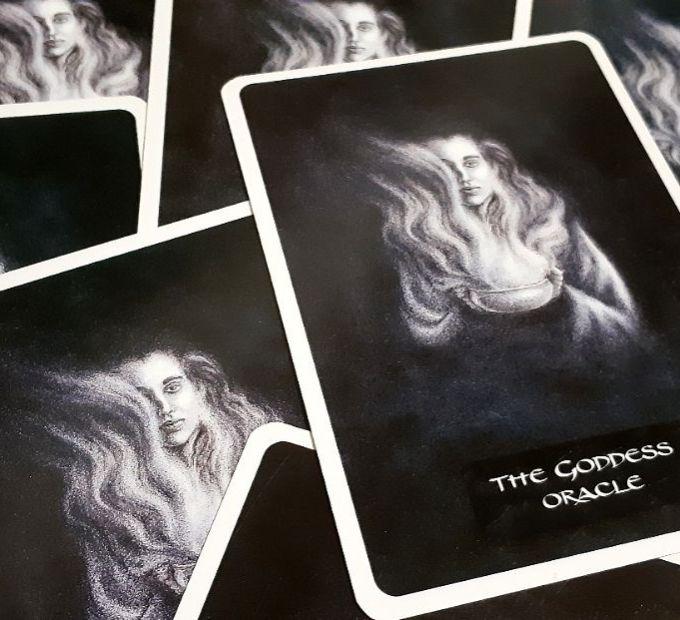 verso do oráculo da deusa