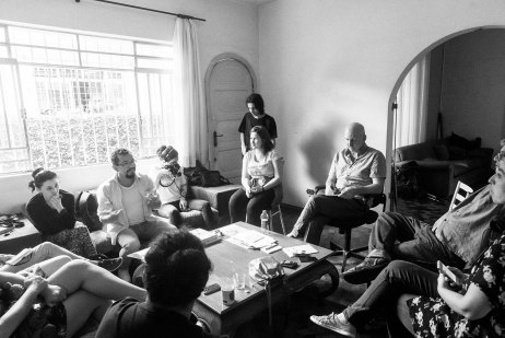 Oficina de Autonomia – Residência Atílio Bório, 603, Curitiba/PR, janeiro 2017 – Fotografia Rodrigo Janasievicz