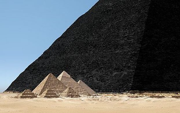 Pyramis Niger – incarnation net MMIX, obra de de Michael Saup