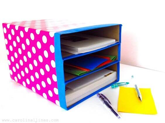 ideias criativas para organizar o seu ateliê