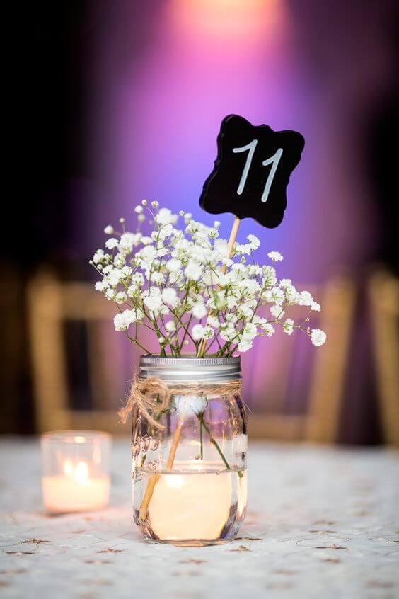 21 Ideias Lindas de Decoração de Casamento Simples 10 21 Ideias Lindas de Decoração de Casamento Simples