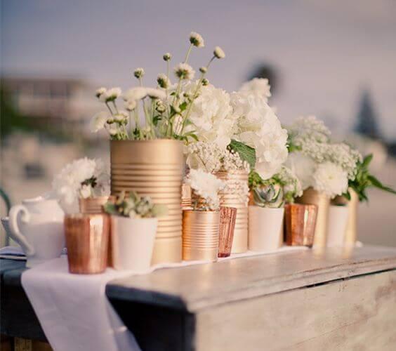 21 Ideias Lindas de Decoração de Casamento Simples 8 21 Ideias Lindas de Decoração de Casamento Simples