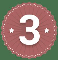 Números emblema 3