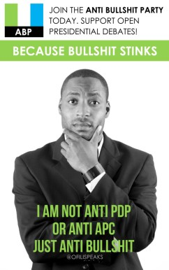 I Am Not Anti #PDP or Anti #APC Just Anti BullShit