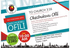 Breaking News: @ofilispeaks Will Be Speaking In A Church Tomorrow
