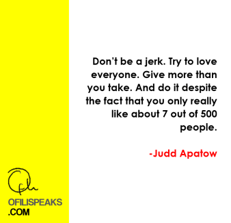 apatow judd quote