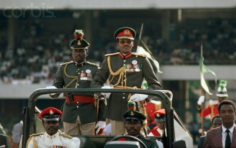 General Muhammadu Buhari of Nigeria After Coup