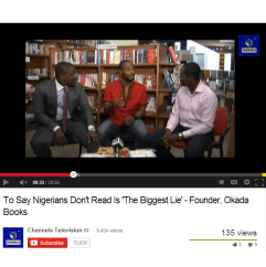 To Say Nigerians Don't Read Is The Biggest Lie with @tundeleye