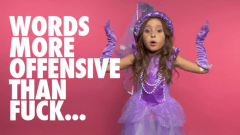 "Little Girls Speak ""F-Bombs for Feminism"" in Viral Video Educating Adults On Sexism"