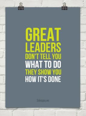great leaders show