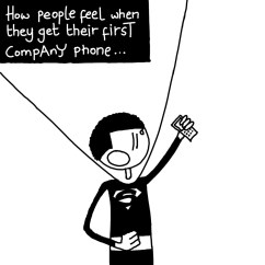 When Employees Get Their First Company Phone