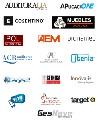 Logos clientes ofimad Madrid