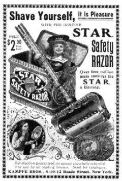 Old Shaving Ad