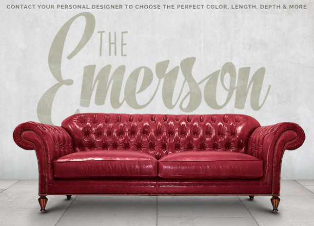 Emerson English Chesterfield Sofa