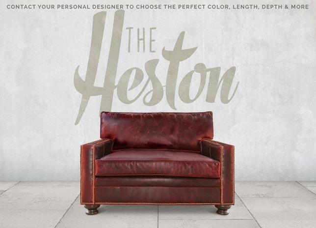 Heston Petite Track Arm Chair