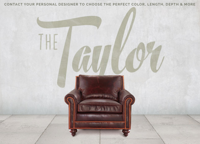 Taylor Petite Roll Arm Chair