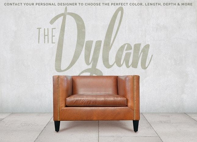 Dylan Mid-Century Custom Chair