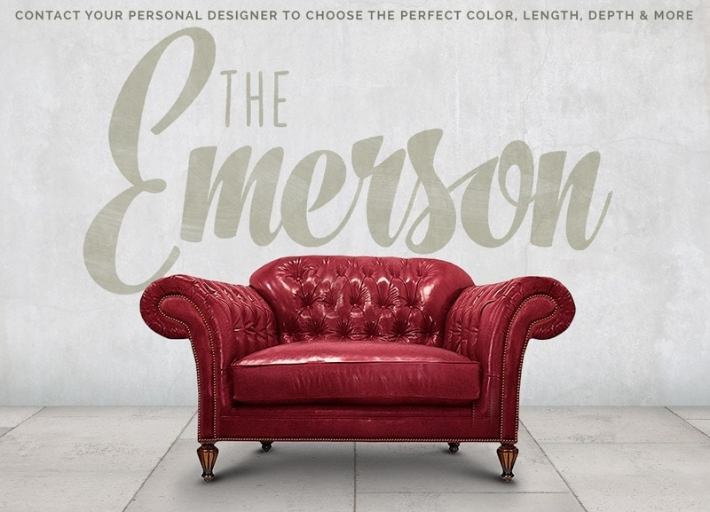 Emerson English Arm Chesterfield Chair