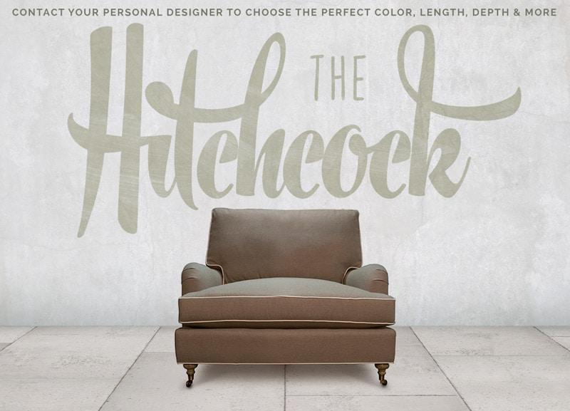 Hitchcock Pillowback English Arm Chair