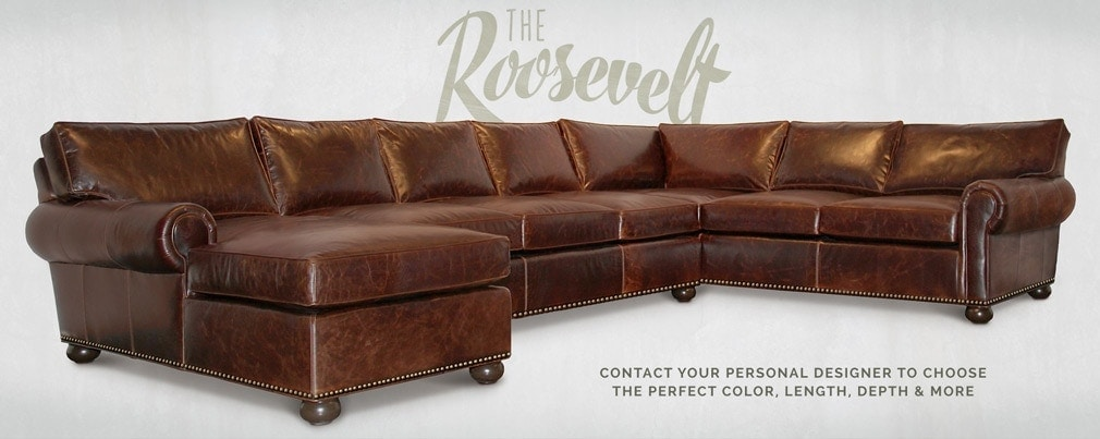 Roosevelt Roll Arm Lawson Sectional