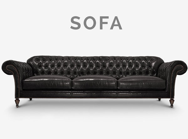 Emerson Tufted Chesterfield Sofa
